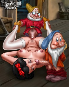 snow white and the seven dwarfs porn toon